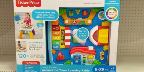 Fisher-Price Laugh & Learn Learning Table Just $19.91 on Walmart.com (Regularly $40)