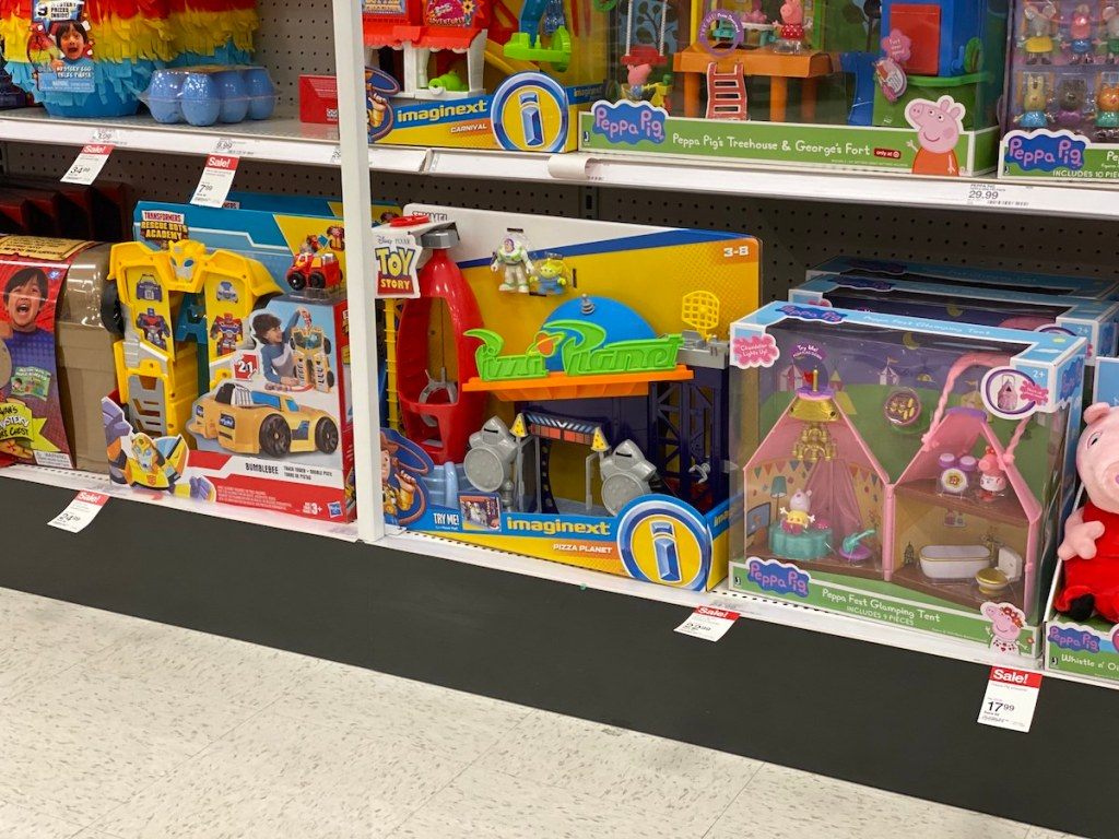Fisher Price Pizza Planet on Target Shelf