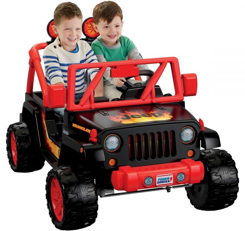 Fisher-Price Power Wheels Tough Talking Jeep