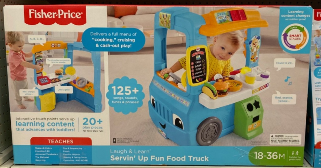 Fisher-Price Servin Up Fun food Truck