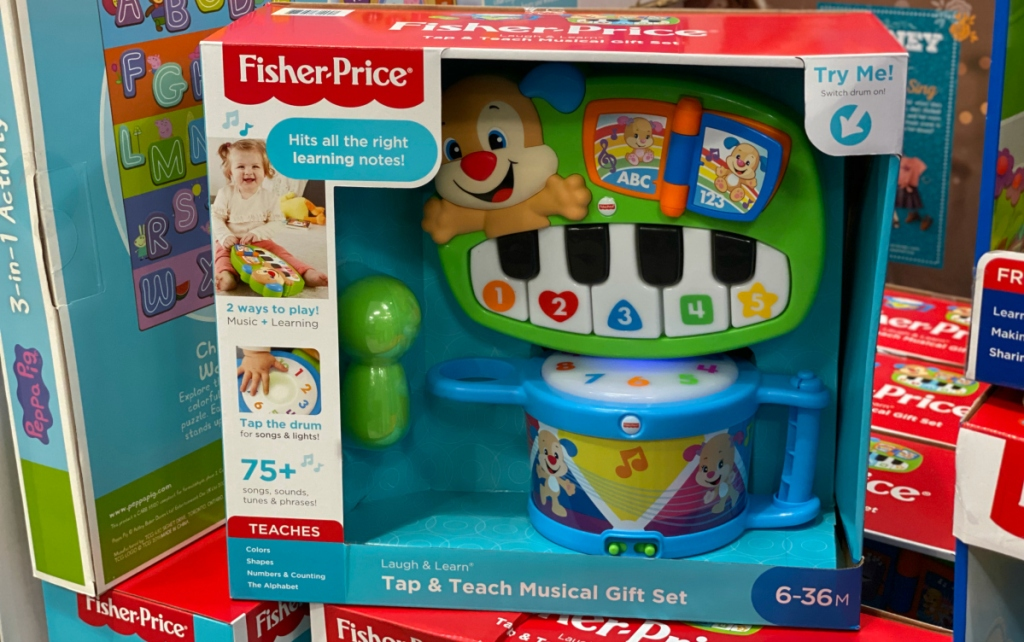 Fisher-Price Tap & Teach Musical Gift Set
