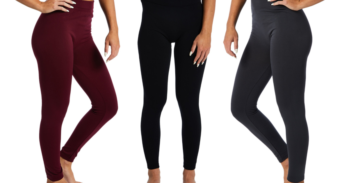 Fleece-Lined Leggings Set