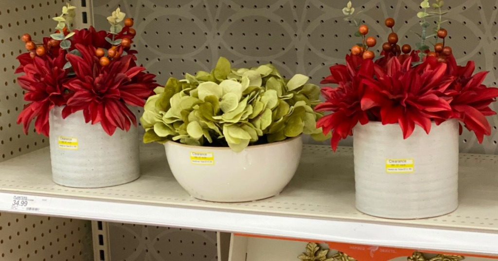 Floral Containers at Target