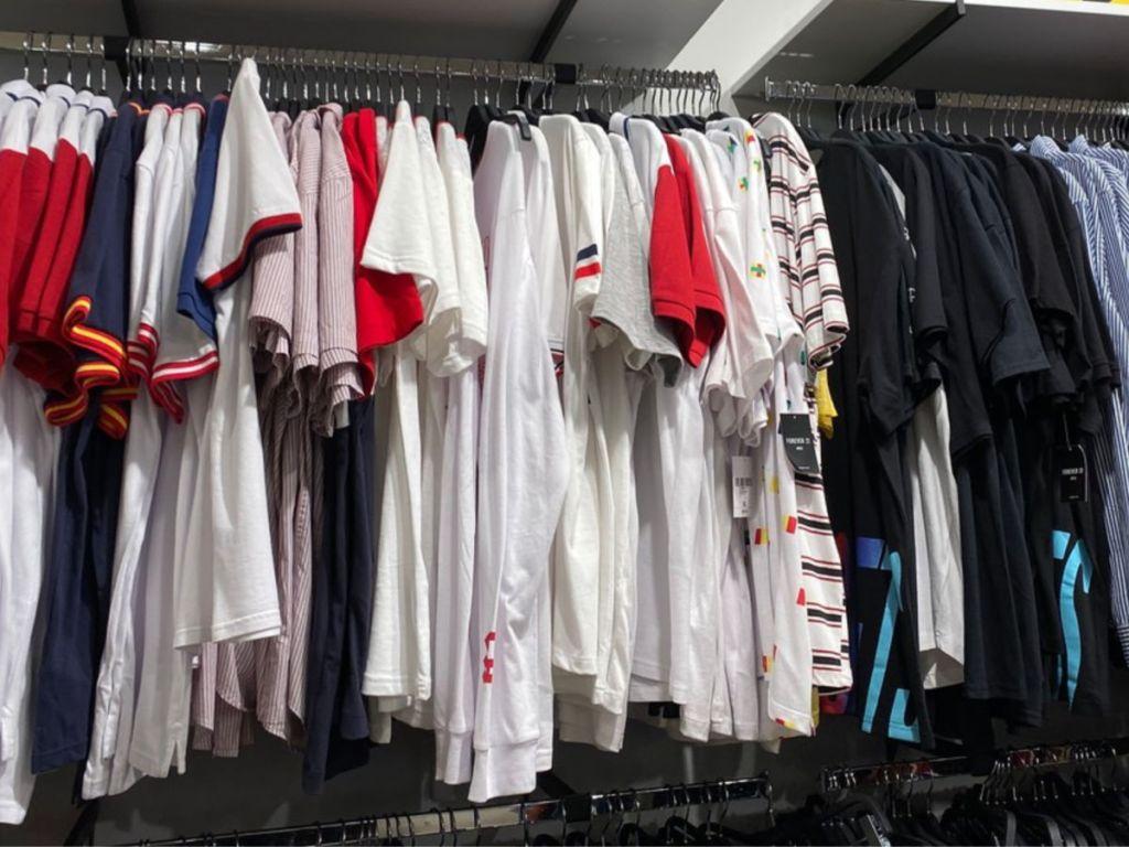 Forever 21 Men's Clothing