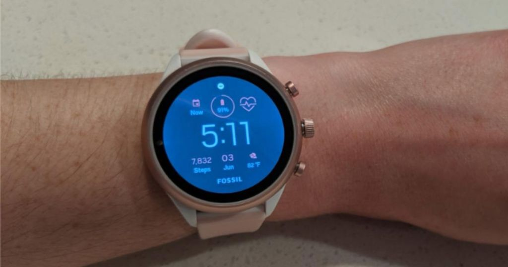 Fossil Smart Watch Rose Gold