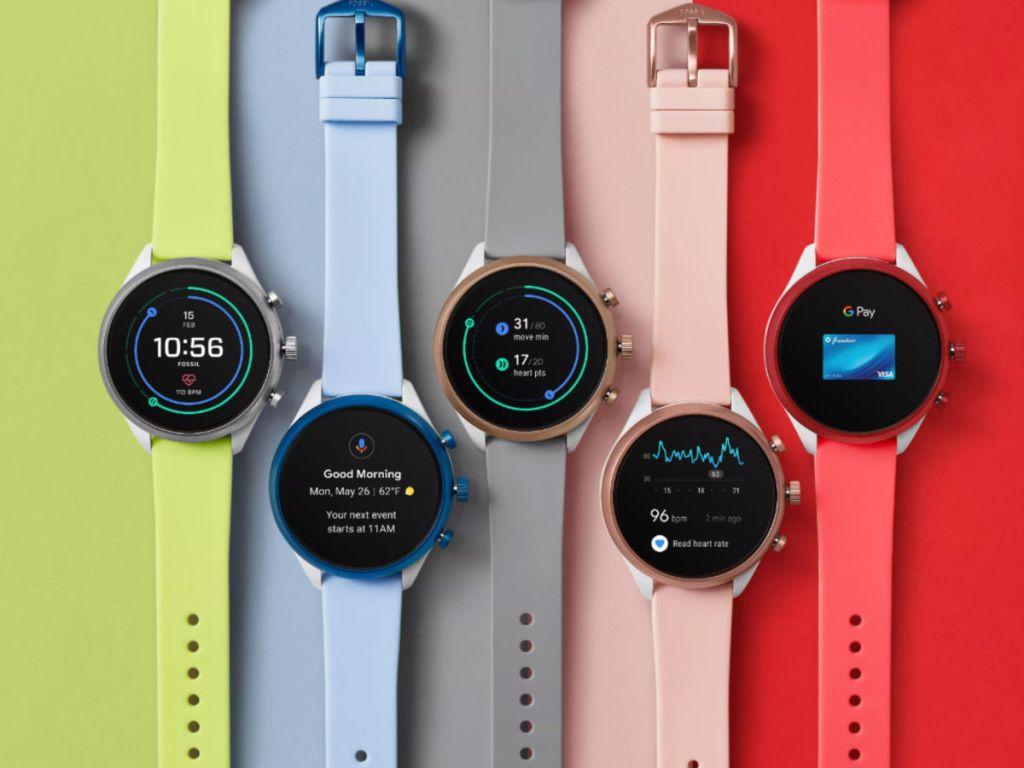 Fossil Smartwatch gen 4 assortment