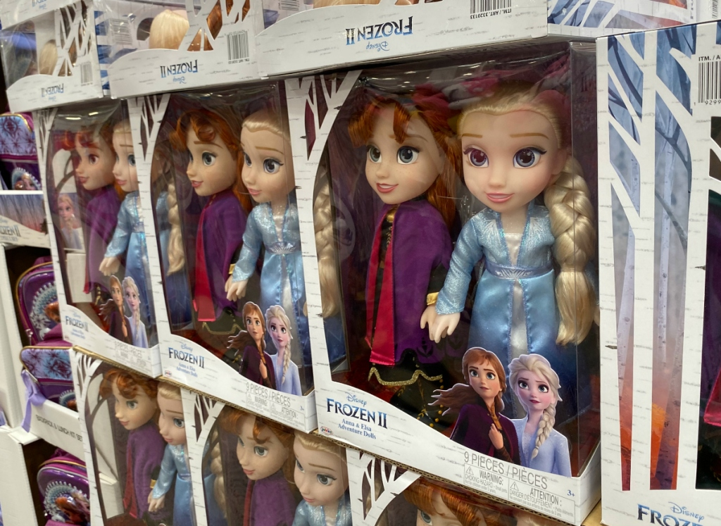 Frozen 2 Disney dolls Costco