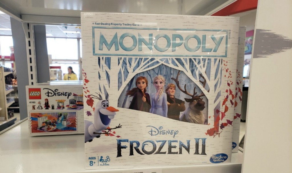 Frozen 2 Monopoly game at Target