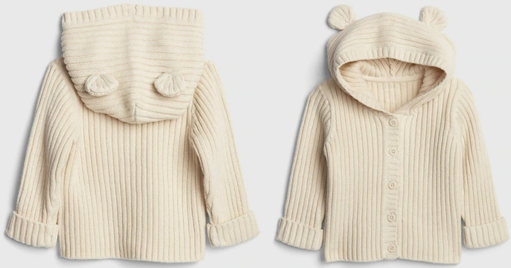 GAP Baby Brannan Bear Sweater vanilla