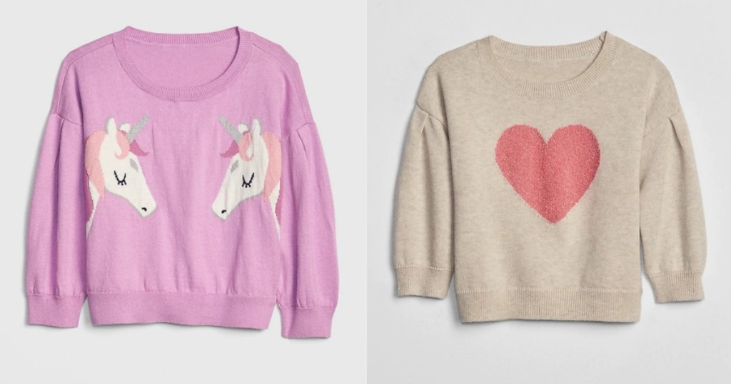GAP toddler sweaters