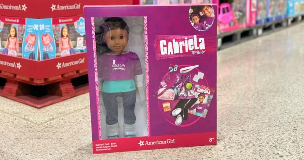 American Girl Doll Gabriela McBride set at Costco