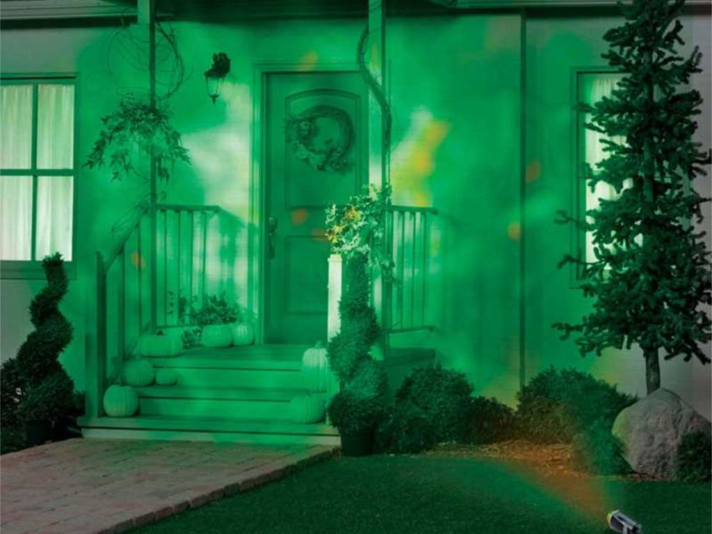 Gemmy Fire & Ice Lightshow Projector
