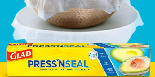 Glad Press'n Seal Plastic Food Wrap 3-Pack Only $8.98 Shipped at Amazon