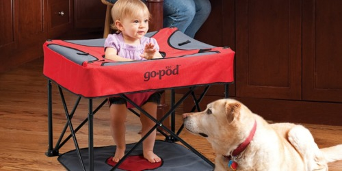 GoPod Portable Activity Seat for Babies Just $39.99 at Zulily