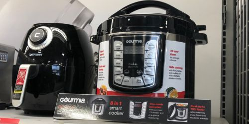Gourmia 8-Quart Stainless Steel Pressure Cooker Just $39.99 Shipped at Best Buy (Regularly $100)