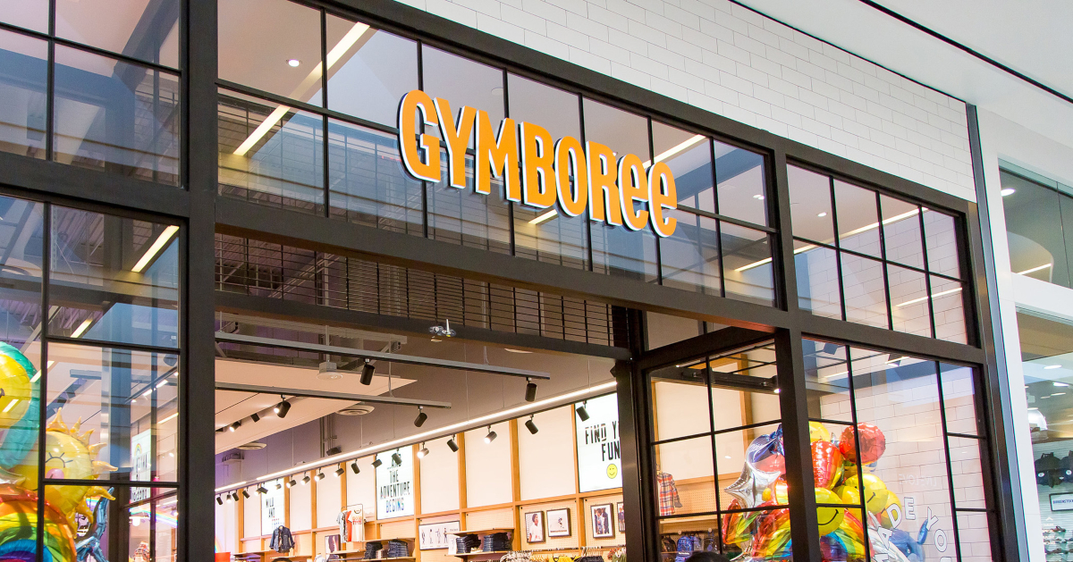 Gymboree storefront