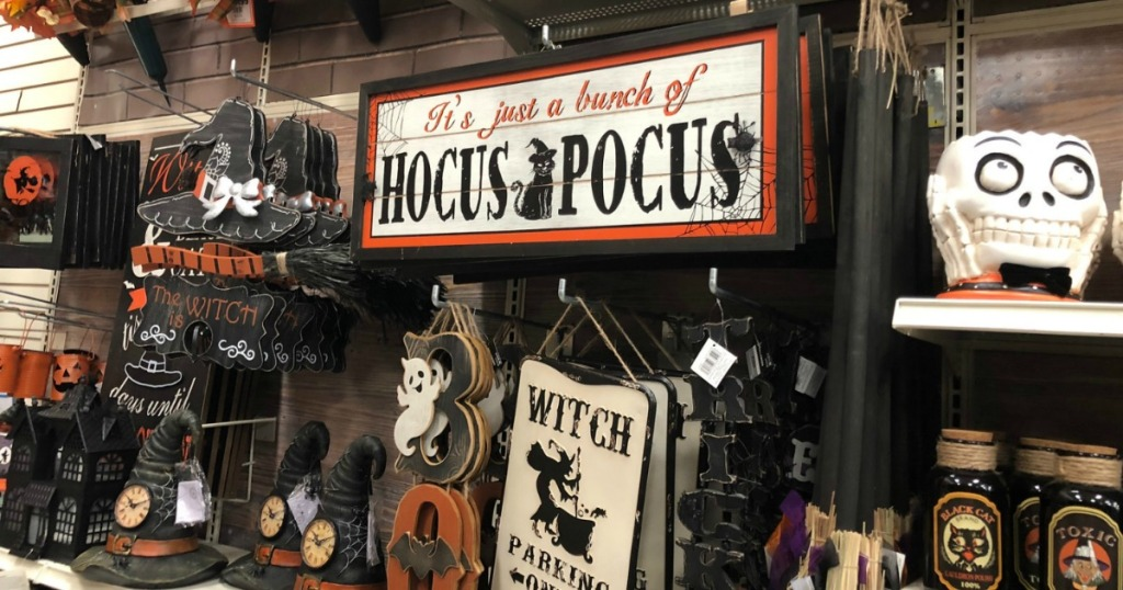 Halloween Decor at Michaels - signs and more
