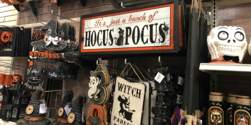 60% Off Michaels Halloween Decor + Extra 20% Off Any Order