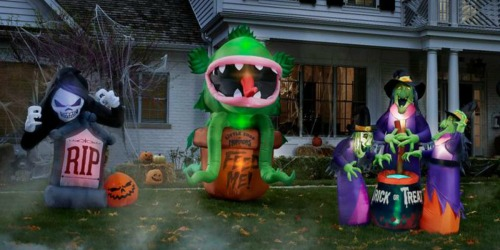 Up to 35% Off Halloween Inflatables + Free Shipping at Home Depot