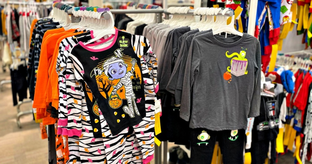 Halloween Pajamas at Target