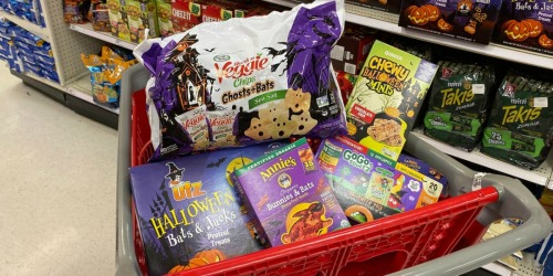 Extra 15% Off Halloween Multi-Pack Snacks at Target | Great for Trick or Treaters & Lunchboxes