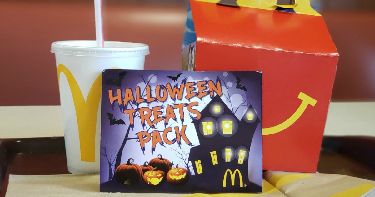Mcdonalds Christmas Treat Packs 2020 McDonald's Halloween Treats Coupon Booklet Only $1 | Contains 12