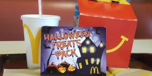 McDonald's Halloween Treats Coupon Booklet Only $1 | Contains 12 FREE Item Coupons