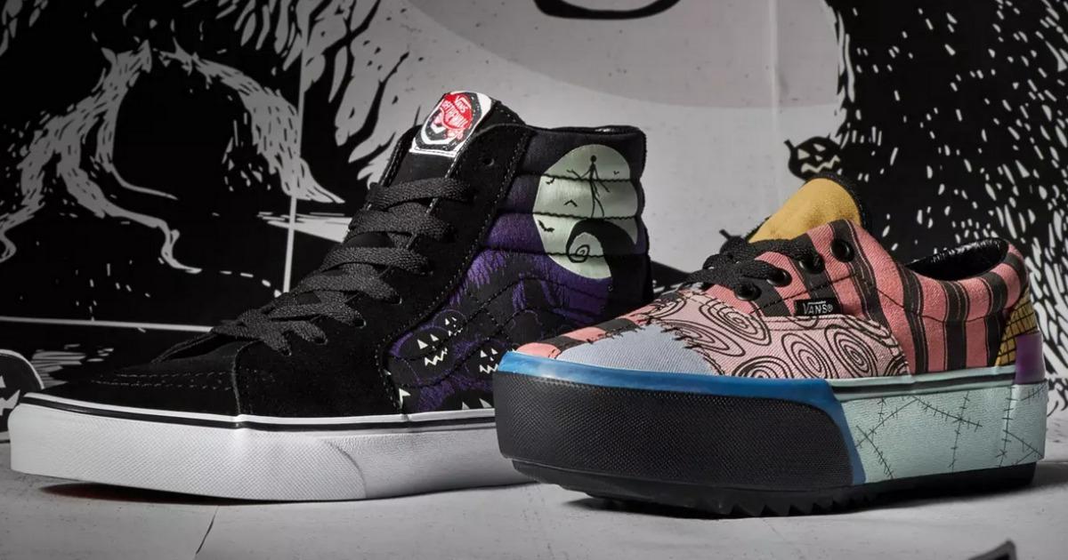 Nightmare Before Christmas Shoes Diy.Vans Nightmare Before Christmas Shoes Apparel Launching 10 4