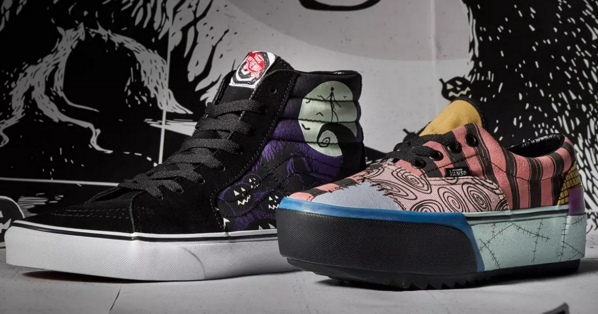 Vans Nightmare Before Christmas Shoes \u0026 Apparel Launching 10/4