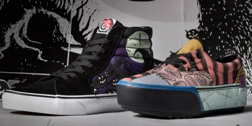 Vans Nightmare Before Christmas Shoes & Apparel Collection Launching on October 4th
