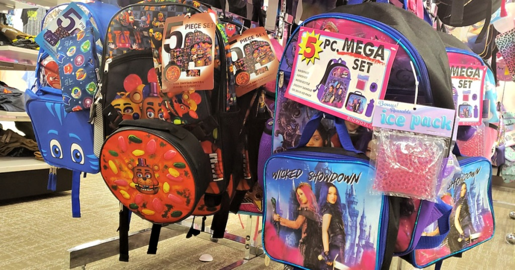 Kids 5-Piece Backpack Sets at Kohls