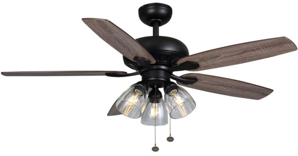 Hampton Bay Rockport 52 in. LED Ceiling Fan