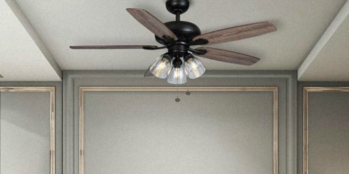 Up to 55% Off Ceiling Fans + Free Shipping at The Home Depot