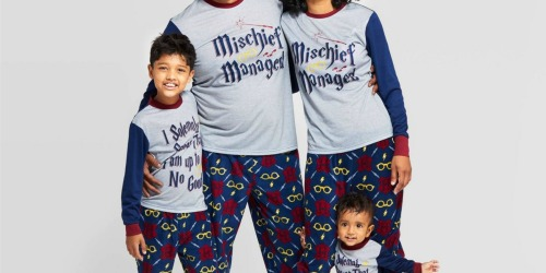 20% Off Matching Family Christmas Pajamas at Target | Harry Potter, Peanuts, & More