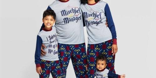 20% Off Matching Family Christmas Pajamas at Target | Harry Potter, Peanuts, & More
