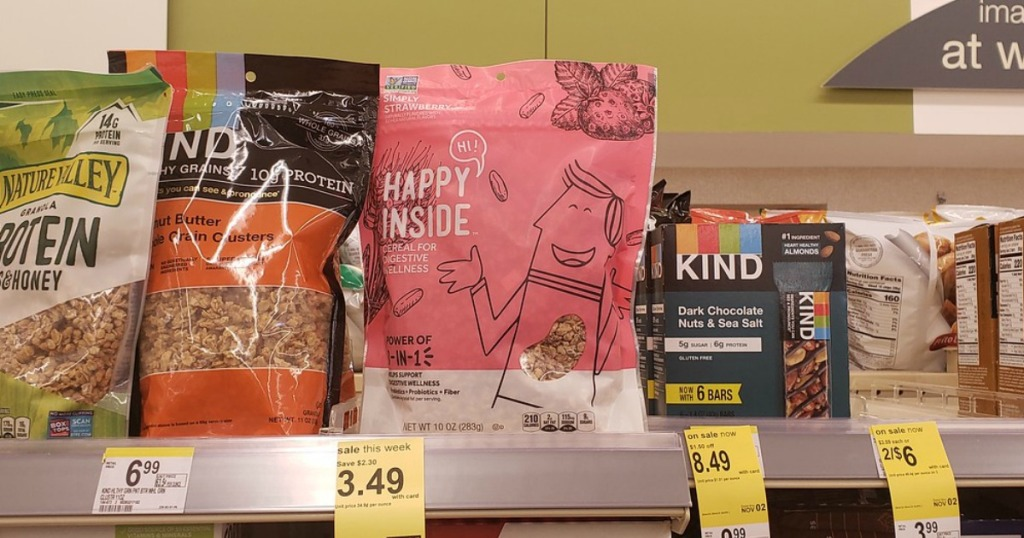 Hi! Happy Inside Cereal at Walgreens on sale