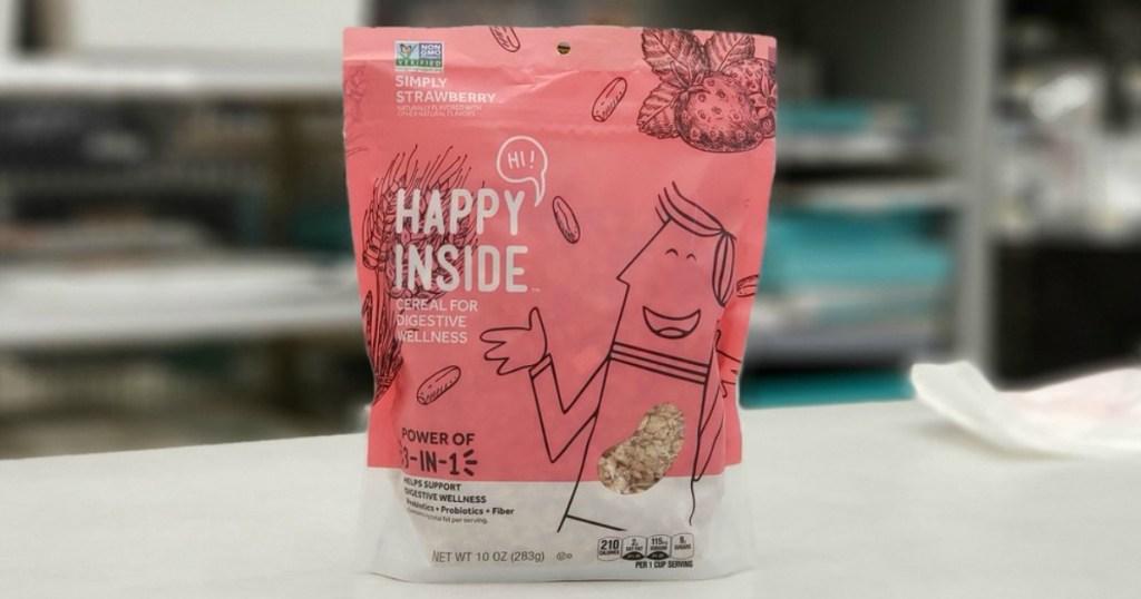Hi! Happy Inside Cereal bag