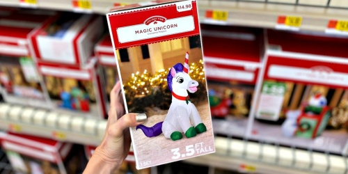 Holiday Time Yard Inflatables as Low as Only $14.98 at Walmart