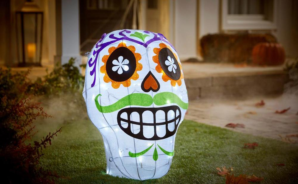 Home Accents Day of the Dead Mask