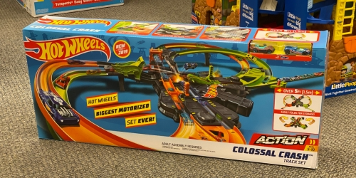 Hot Wheels Colossal Crash Track Set Only $64.99 Shipped (Regularly $89)