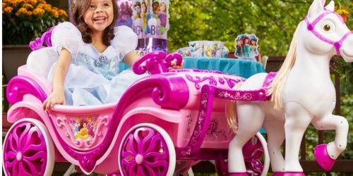 Disney Princess Horse & Carriage Ride-On Toy Only $99 Shipped (Regularly $200)