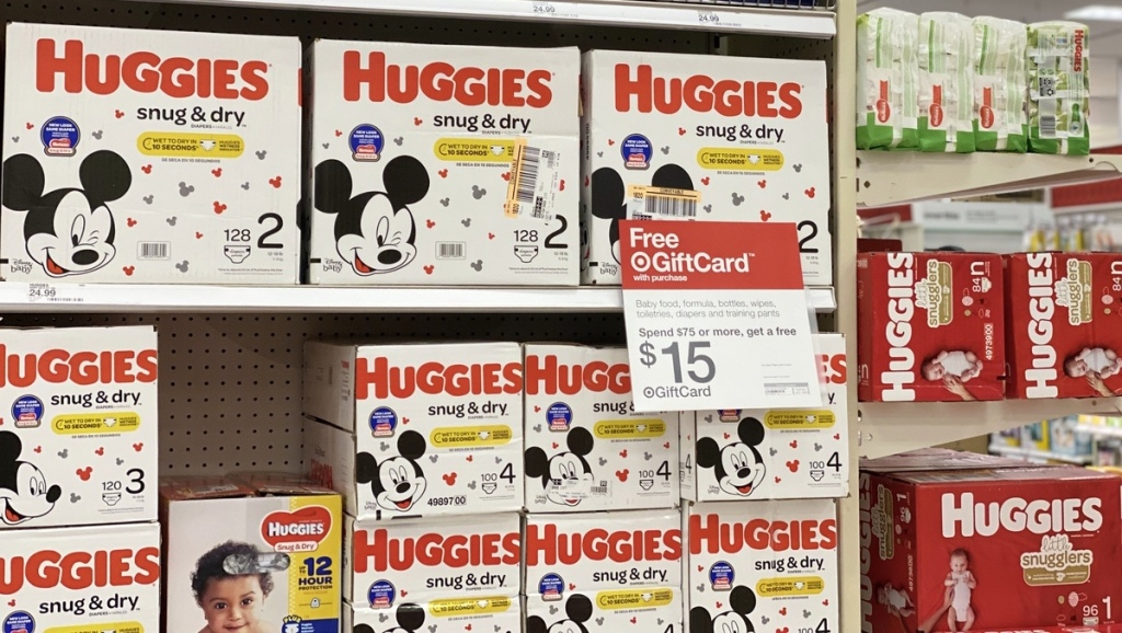 Huggies Snug & Dry Diapers at Target