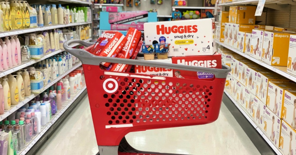 Huggies in Target Shopping Cart