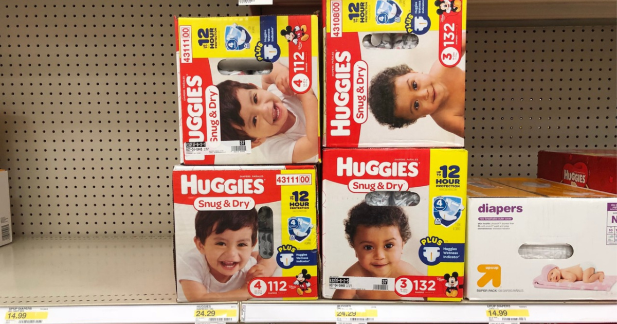 Huggies in Target