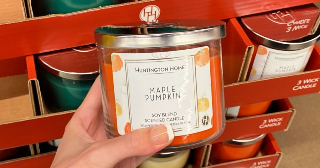 Huntington Home Soy Blend Maple Pumpkin