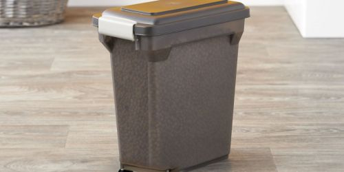 IRIS Premium Airtight 22-Pound Pet Food Storage Container Only $11 (Regularly $20)