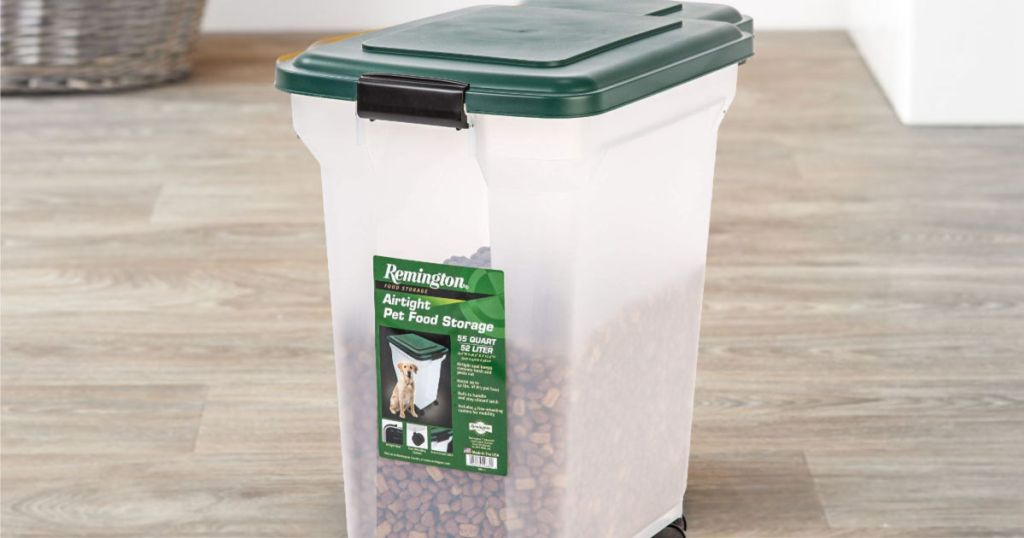 IRIS Remington Airtight 42-Pound Pet Food Storage Container