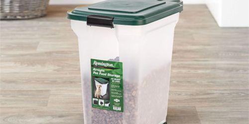 IRIS Remington Airtight 42-Pound Pet Food Storage Container Only $12.58 (Regularly $34)