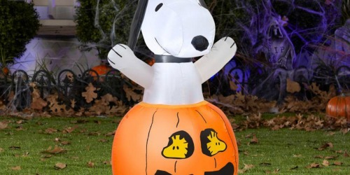 Snoopy & Woodstock Halloween Inflatable Just $19.98 (Regularly $35)