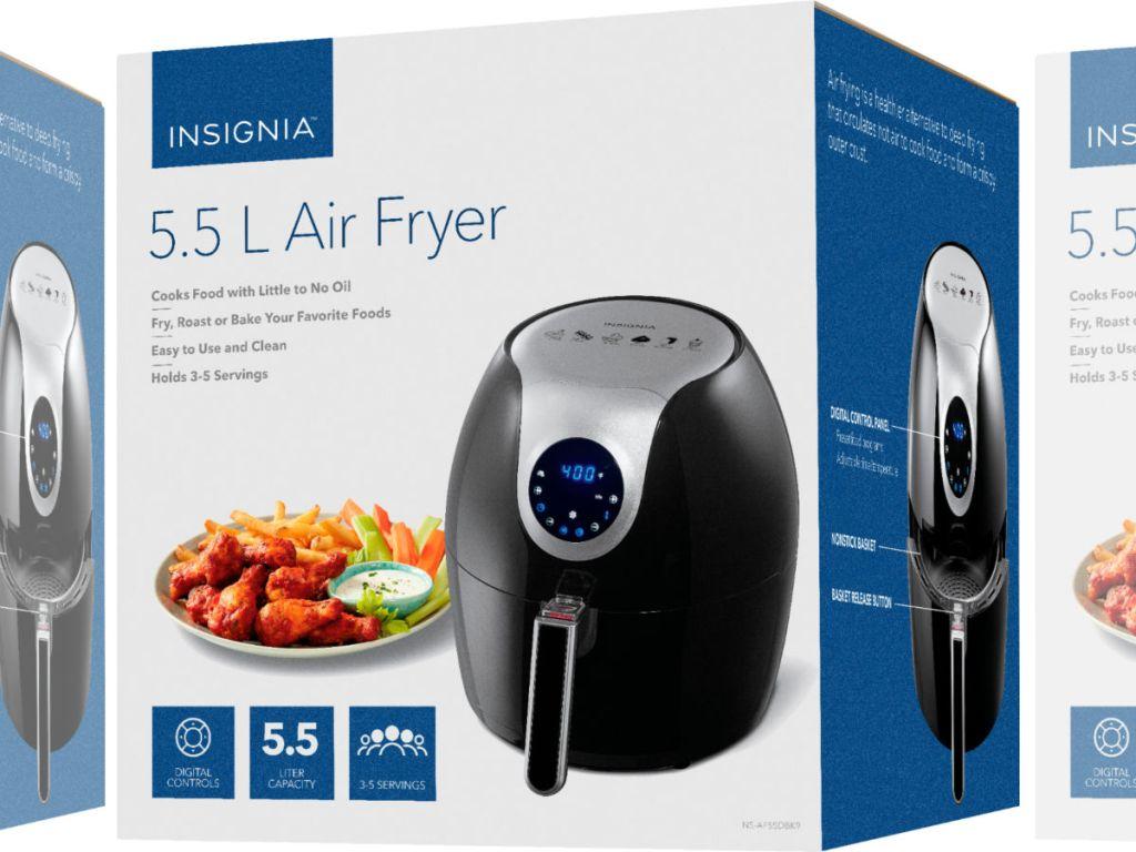 Insignia Digital Air Fryer 5.8-Quart